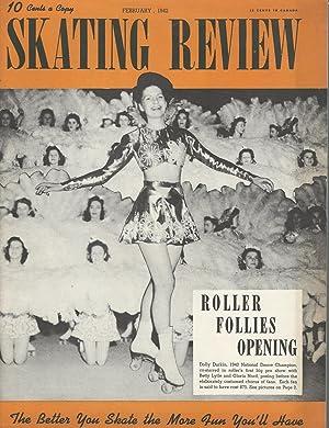 Skating Review Magazine: Volume II, No.3: February,: Smith, Edward W.