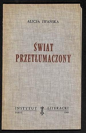Swiat Przetlumaczony: Iwanska, Alicja