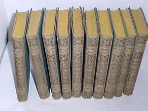 Goethes Werke. 10 Bände: Christiansen, Dr. Chr.: