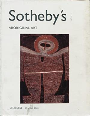 Sotheby's Aboriginal Art, Melbourne 25 July 2005