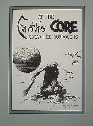 Edgar Rice Burroughs 8 Earth's Core -: Frank Frazetta