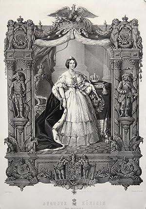 Dresden 30. 08. 1800 - 05. 07. 1873 Bad Homburg). Gräfin von Harrach. 2. Ehefrau von König Wilhelm ...