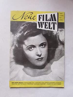 Neue Filmwelt - Heft 1 (Jahrgang 1): Bergmann, K.-H.: