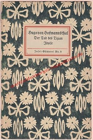 Der Tod des Tizian - Insel-Bücherei Nr.8: Hofmannsthal, Hugo von