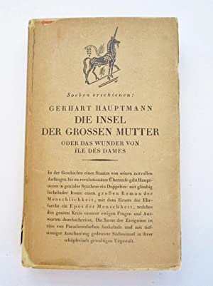 1924 Die Insel der Grossen Mutter / Island of the Great Mother ASSOCIATION COPY with SIDNEY H. SI...