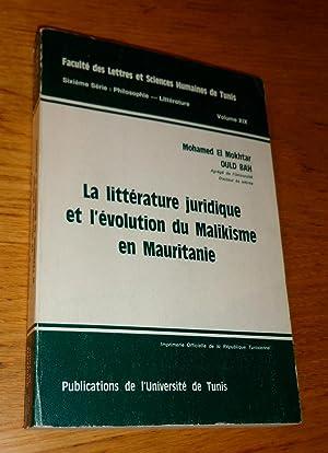 La littérature juridique et l'évolution du Malikisme en Mauritanie: Ould Bah (Mohamed El ...