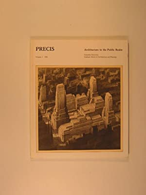 PRECIS: The Journal of the Columbia University School of Architecture