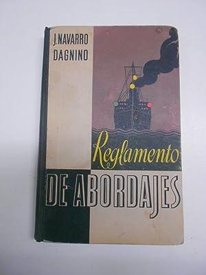EL REGLAMENTO DE ABORDAJES.: NAVARRO DAGNINO, Juan