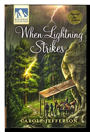 WHEN LIGHTNING STRIKES: Mysteries of Silver Peak.: Greene, Carolyn writing