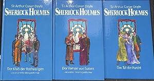 Sherlock Holmes Das Gesamtwerk in 9 Bänden Sämtliche Romane und 56 Stories von Arthur Conan Doyle ...