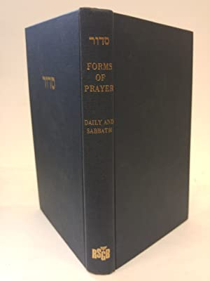 Forms of Prayer for Jewish Worship, Volume: Assembly of Reform
