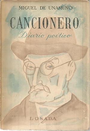 Cancionero. Diario poetico: DE UNAMUNO, MIGUEL