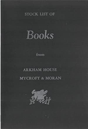 Arkham House Stock List 1971