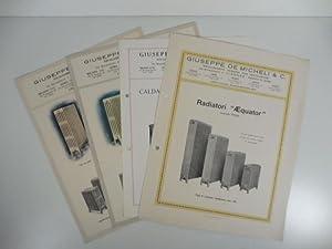 Giuseppe De Micheli & C. Riscaldamenti moderni con ventilazione: Anonimo