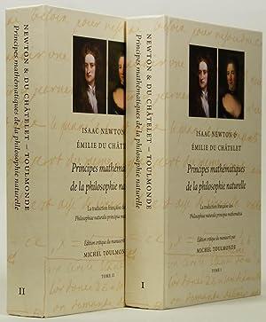 Principes mathématiques de la philosophie naturelle. La: NEWTON, I., CHÂTELET,