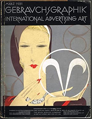 Gebrauchsgraphik - International Advertising Art. Herausgeber Prof. H. K. Frenzel Editor. Achter ...