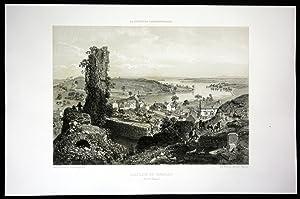 "Chatillon en Vendelais"" - Chatillon en Vendelais Ansicht vue Bretagne Frankreich France ..."