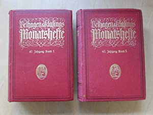 Velhagen & Klasings Monatshefte - Jahrgang 40 (Band 1 & 2): Höcker, Paul Oskar: