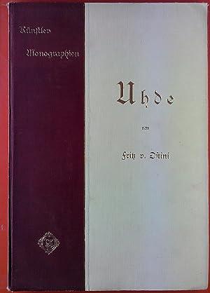 Künstler Monographien - Uhde: Fritz v. Ostini