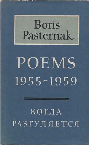 Poems 1955-1959: Pasternak, Boris (Michael
