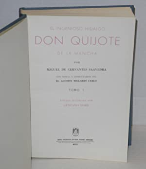 El ingenioso hidalgo Don Quijote de la Mancha [Don Quixote tomo I & II] por Miguel de Cervantes...