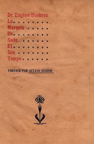 Imagen del vendedor de LE MARQUIS DE SADE ET SON TEMPS a la venta por Librairie L'amour qui bouquine