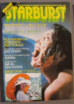STARBURST (UK British MARVEL; SCI-FI MONTHLY MAGAZINE;: Stephen King, Stan