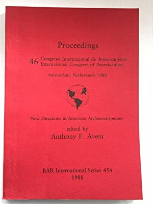 New Directions in American Archaeoastronomy : Aveni, Anthony F.