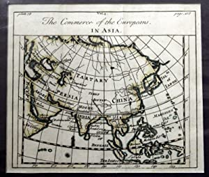 The Commerce of the Europeans in Asia Map