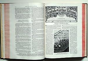Möller's Deutsche Gärtner-Zeitung. 22. Jahrgang 1907. Heft 1-52.: Möller, Ludwig (Hrgb.)