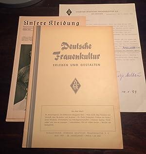 Deutsche Frauenkultur. Erleben und Gestalten. Mai 1957, 60. Jahrgang. Herausgeber: Verband deutsche...
