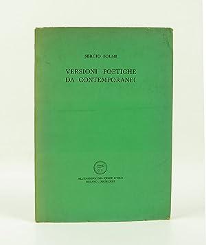 Versioni poetiche da contemporanei: Aa. Vv. (Paul