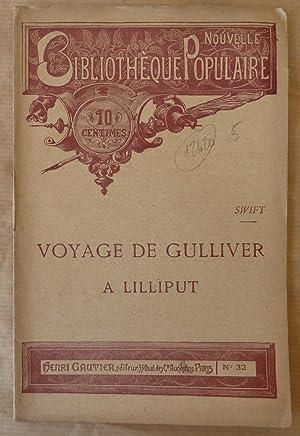 Image du vendeur pour Voyage de Gulliver à Lilliput. mis en vente par  Daniel Sciardet