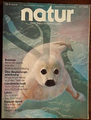 Bild des Verkäufers für Natur. Horst Sterns Umweltmagazin. 1983 - Nr. 4. zum Verkauf von buch-radel