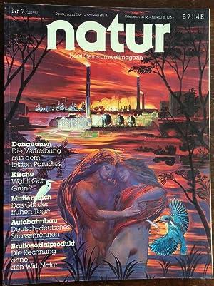 Bild des Verkäufers für Natur. Horst Sterns Umweltmagazin. 1981 - Nr. 7. zum Verkauf von buch-radel