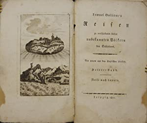 Lemuel Gulliver's Reisen zu verschiedenen bisher unbekannten: Swift, Johathan).