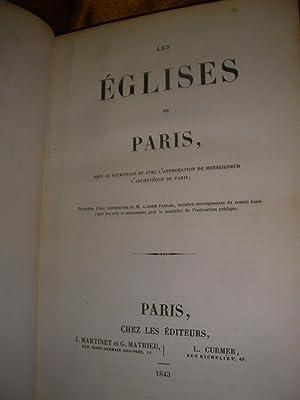 LES EGLISES DE PARIS: Collectif