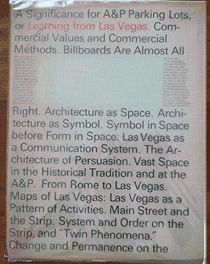 Learning From Las Vegas: Architecture - Venturi,