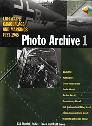 Luftwaffe Camouflage and Markings 1933-1945, Photo Archive: MERRICK K.A. ,