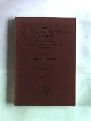 Sancti Aurelii Augustini Retractationum libri duo. Corpus Scriptorum Ecclesiasticorum Latinorum, ...