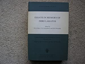 Essays In Memory of Imre Lakatos.: Imre Lakatos) Edited