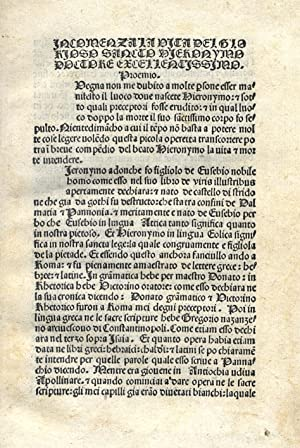 Immagine del venditore per Vita, transito e miracoli (in italiano). venduto da Libreria Antiquaria Pregliasco