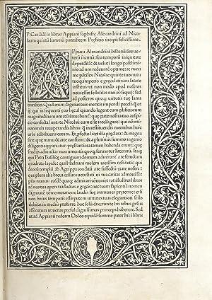 Immagine del venditore per Historia Romana.(Con:) De bellis civilibus. venduto da Libreria Antiquaria Pregliasco