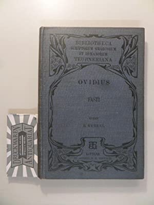 Fastorum Libri VI.: Nasonis, P. Ovidii: