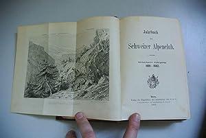 Jahrbuch des Schweizer Alpenclub. Siebzehnter Jahrgang. 1881 - 1882.