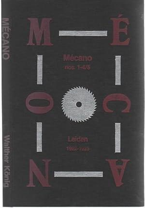 Mecano. Nos. 1 - 4/5 / Leiden 1922 - 1923: Mecano