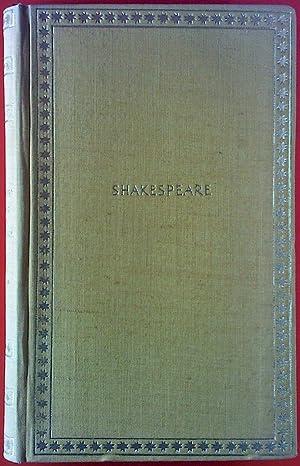 William Shakespeare. Ausgewählte Werke. Sonette - Romeo und Julia - Hamlet - etc.: Oskar Rühle