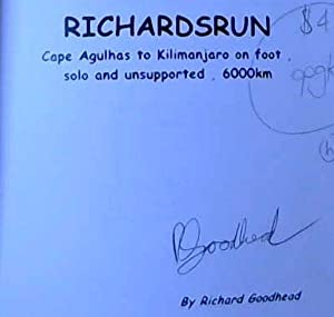 Richardsrun: Cape Agulhas to Kilimanjaro on foot