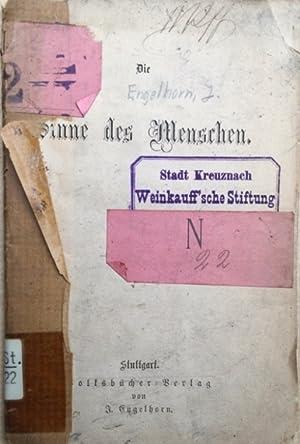Die Sinne des Menschen,: Engelhorn, J.,