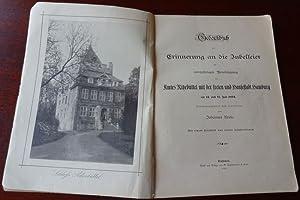 Gedenkbuch zur Erinnerung an die Jubelfeier der 500jährigen Vereinigung des Amtes Ritzebüttel mit ...